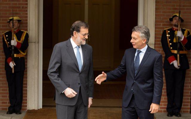 Mariano Rajoy y Maurio Macri