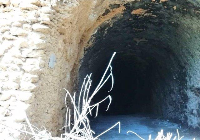 Antiguo túnel ferroviario de Alcalá