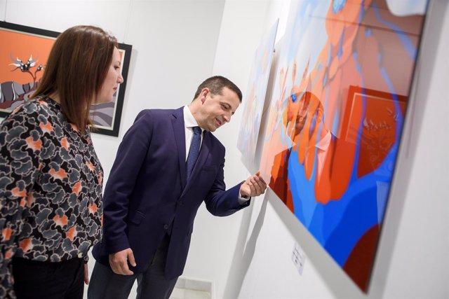 La Galería Alfareros acoge la exposición 'Numen', de Eva Quesada.