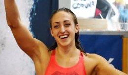 La nadadora española Lidón Muñoz