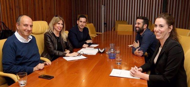 Belmonte, En La Reunión Con Montesinos Y Su Equipo