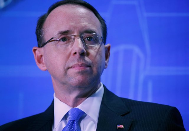 Rod Rosenstein, fiscal general adjunto de Estados Unidos