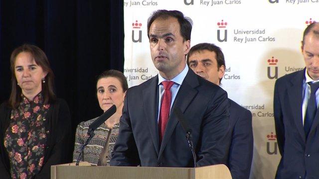 El rector de la URJC ha declarado en relación al Master de Cristina Cifuentes