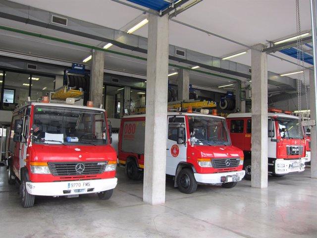 Camiones De Bomberos De Barcelona