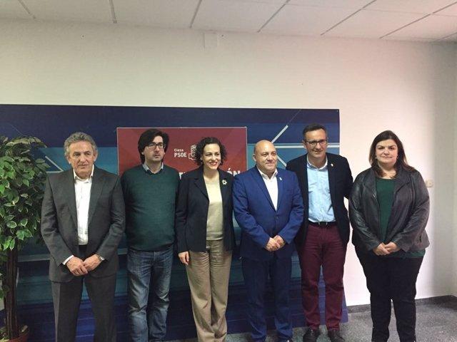 Magdalena Valerio, Diego Conesa y Pascual Lucas sobre pensiones