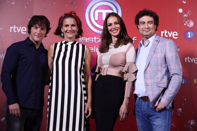 Jordi Cruz, Samantha Vallejo-Nágera, Eva González y Pepe Rodríguez