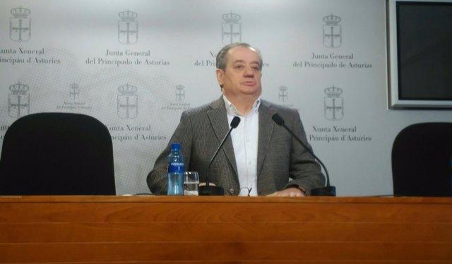 Imagen de archivo del portavoz de Ciudadanos en la Junta, Nicanor García