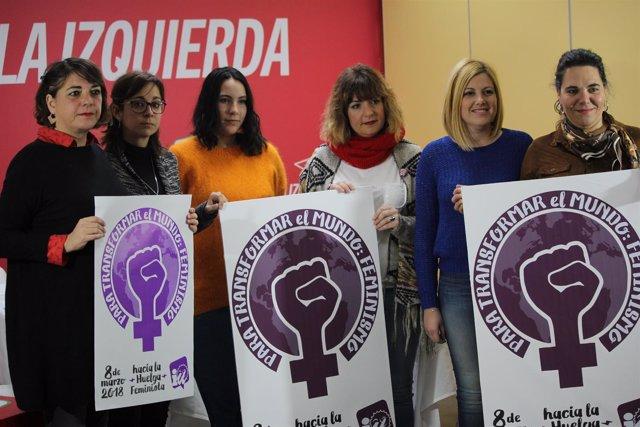Apoyo de IULV-CA a la huelga feminista del 8 de marzo