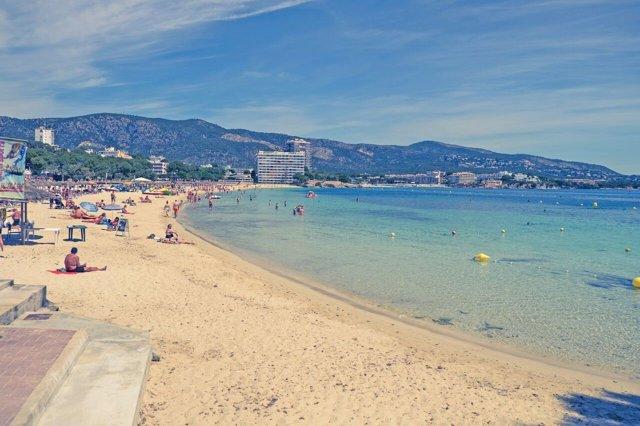 Magaluf, recurso, playa , sol, turismo, Mallorca