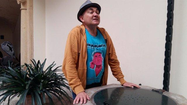 El actor Pep Noguera