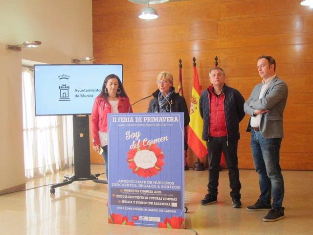 Presentación 'II Feria Comercial del Barrio del Carmen'