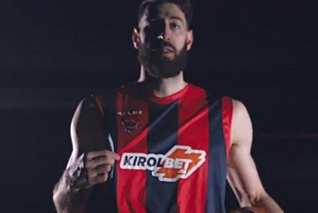 Nueva camiseta del Kirolbet Baskonia
