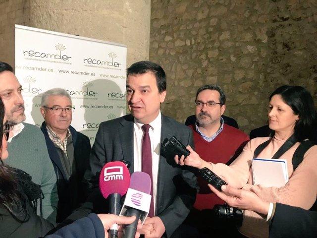Consejero de Agricultura de C-LM, Francisco Martínez Arroyo