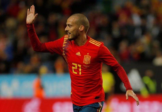 David Silva España selección española fútbol