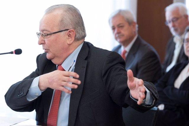 El exconsejero de Empleo Antonio Fernández comparece en el juicio de los ERE
