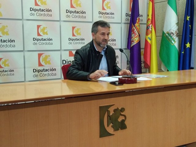 Francisco Ángel Sánchez (IU) en la Diputación