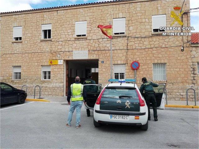 Detenido por cometer seis delitos en el mismo día
