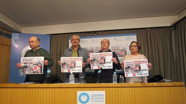 UGT y CCOO se movilizan en defensa del sistema público de pensiones