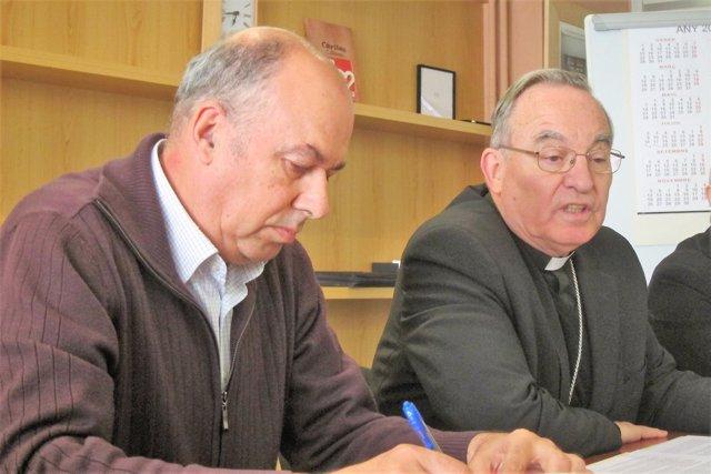 Pere Micaló y Jaume Pujol