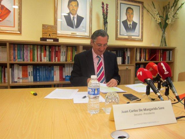 Juan Carlos de Margarida, en rueda de prensa.