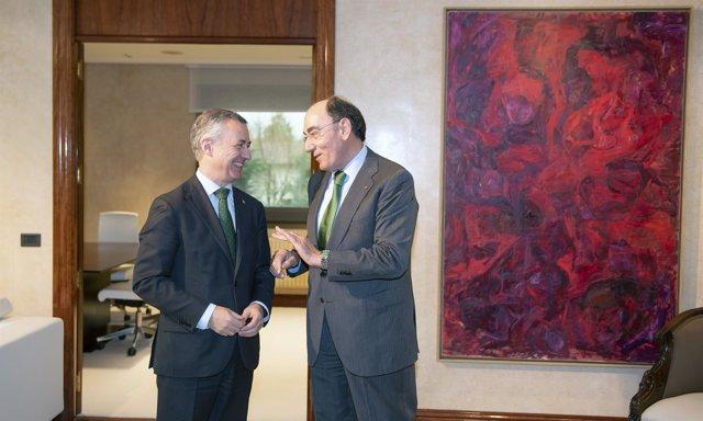Reunión entre Ignacio Galán y el lehendakari, Iñigo Urkullu