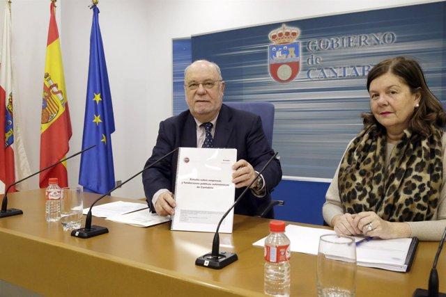 Sota presenta informe de la AIReF sobre sector público empresarial