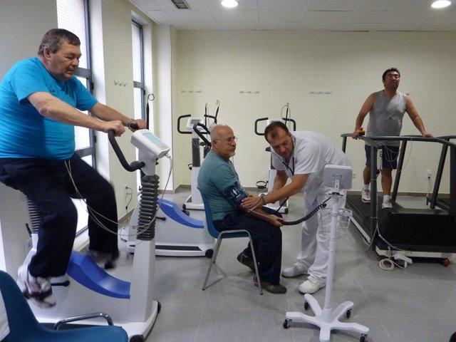 Unidad De Rehabilitación Cardiaca Del Hospital Juan Ramón Jiménez.