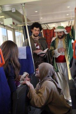 Tren medieval Sigüenza