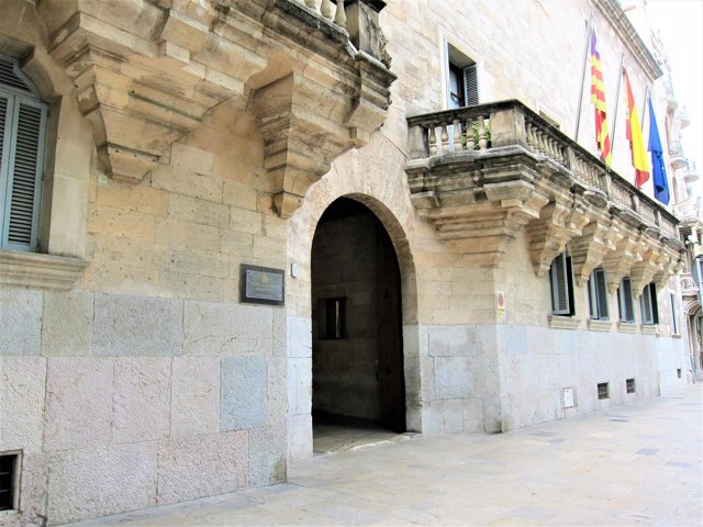 Fachada de la Audiencia Provincial de Baleares