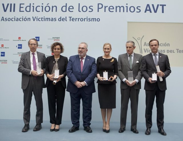 Entrega de los VII Premio de la AVT