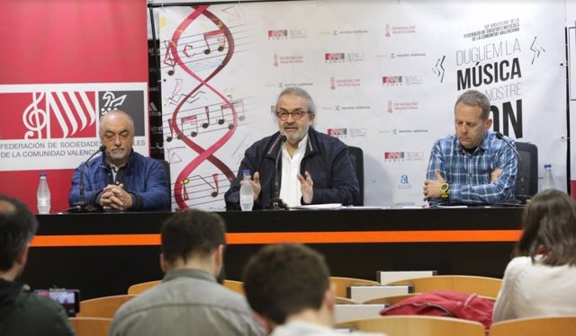 Presentación de los actos del 50 aniversario de la FSMCV
