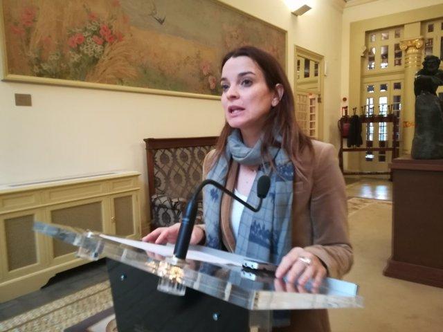 Margalida Prohens, portavoz del PP