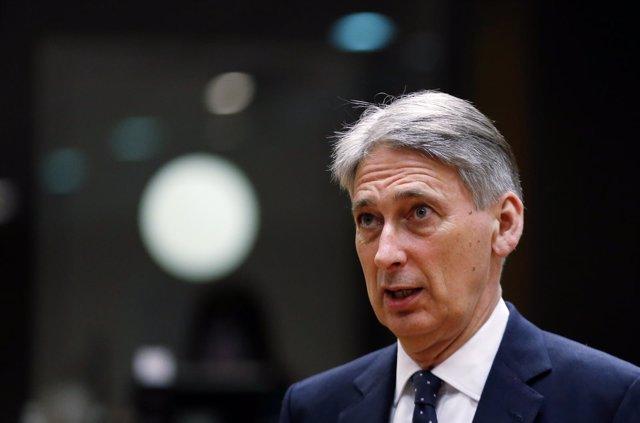 El ministro de Finanzas de Reino Unido, Philip Hammond