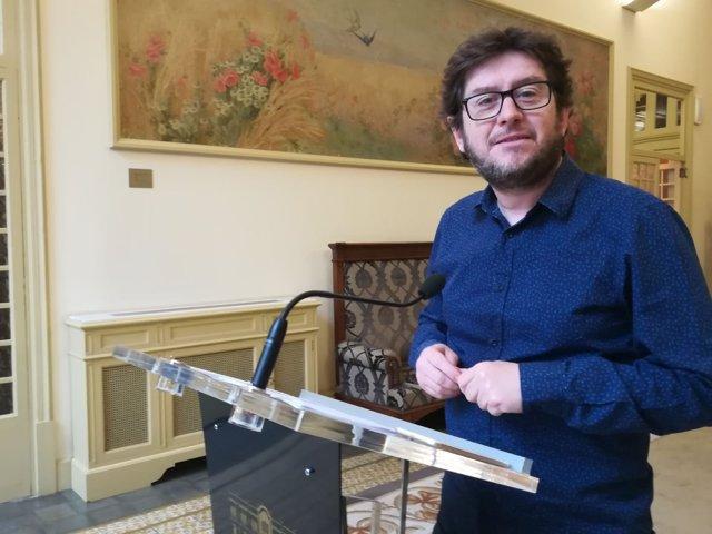 Alberto Jarabo, portavoz de Podemos en el Parlament