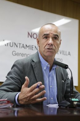 El concejal de Hábitat Urbano del Ayuntamiento de Sevilla, Antonio Muñoz