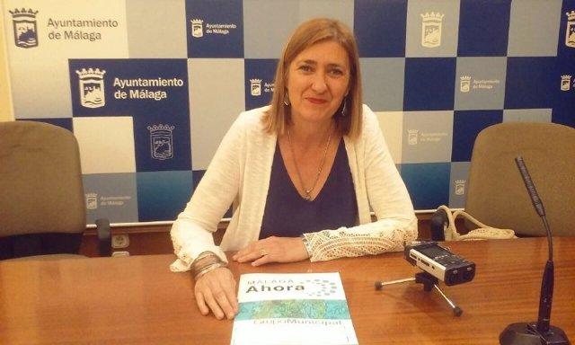 Ysabel Torralbo,  portavoz Málaga Ahora Ayuntamiento Málaga