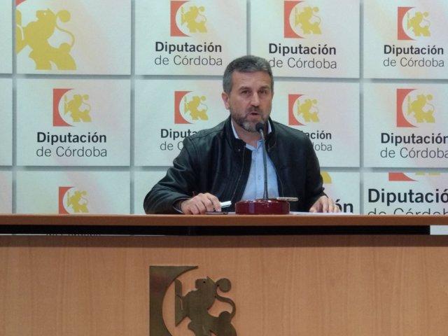 Francisco Ángel Sánchez, en rueda de prensa