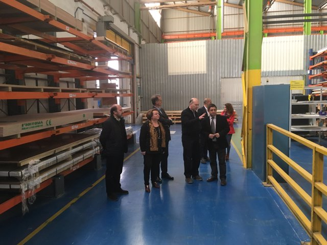 Visita a las instalaciones de Compin en Linares.