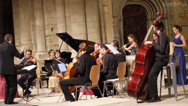 Actuación de LleidArt Ensemble