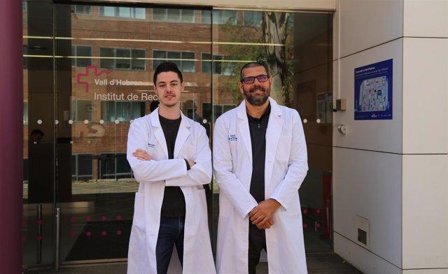 Los científicos del VHIR Albert Torra y Jordi Bové