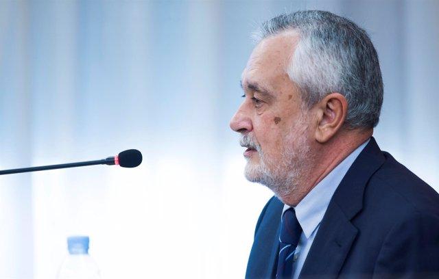 El expresidente andaluz José Antonio Griñán en el juicio por los ERE