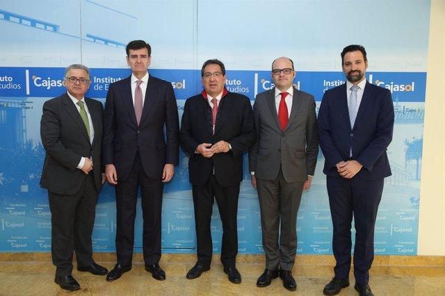 El director financiero del Santander en el Instituto de Estudios Cajasol