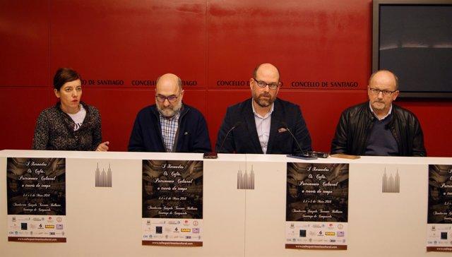 Presentación Cafés Históricos en Compostela, fundación Torrente Ballester