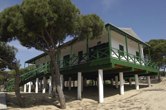 Casa de los Ingleses de Punta Umbría.