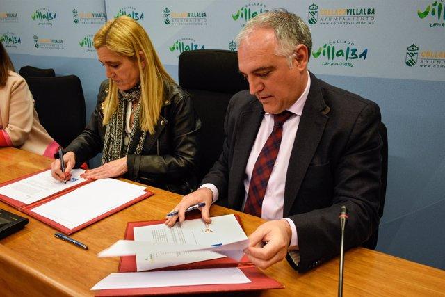 Acuerdo en Villalba para los presupuestos