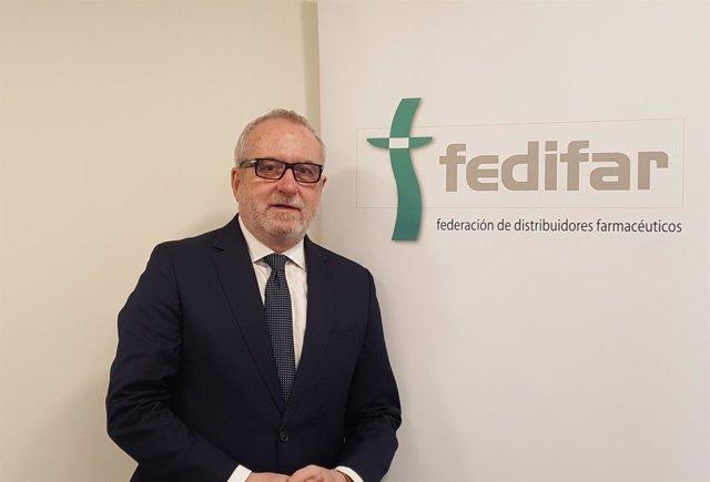 Eladio González Miñor, presidente de Fedifa