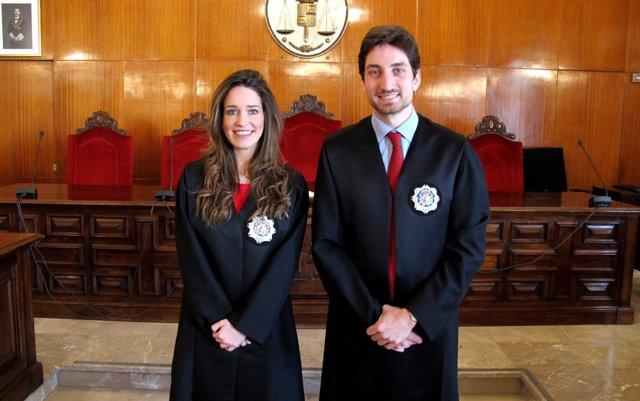 Los dos nuevos jueces
