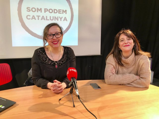 Noelia Bail y Maria Martinez (Podem)