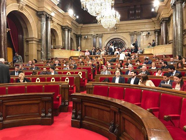 Pleno del Parlament (Archivo)