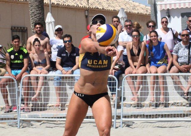 Campeonato de España Universitario de voley playa organizado por la UCAM